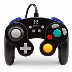 海外限定 NINTENDO SWITCH ニンテンドースイッチ コントローラー ゲームキューブスタイル PowerA 有線 USB接続 ブラック