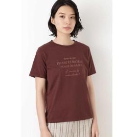HUMAN WOMAN / ヒューマンウーマン ロゴプリントTシャツ