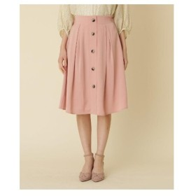 Couture Brooch(クチュールブローチ)【洗える】フロントボタンスカート