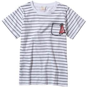 プリントTシャツ(女の子 子供服。ジュニア服) Tシャツ・カットソー
