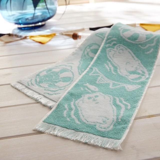 タオル 冷感糸でひんやり!さわるとつめたいクールタオル<日本製> カラー 「しろくま」