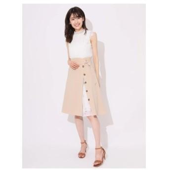 Fabulous Angela(ファビュラスアンジェラ)3Way花柄プリーツスカートSETトレンチスカート
