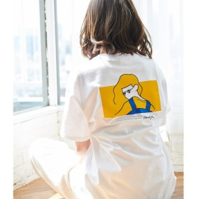 【ロペピクニック/ROPE' PICNIC】 【WEB限定】【Rooo Lou×ROPE' PICNIC】COLLABORATION Tshirt