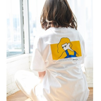 【ロペピクニック/ROPE' PICNIC】 【WEB限定】【Rooo Lou×ROPE' PICNIC】COLLABORATION Tshirt