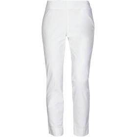 《セール開催中》MALPARMI レディース パンツ ホワイト 38 コットン 98% / ポリウレタン 2%
