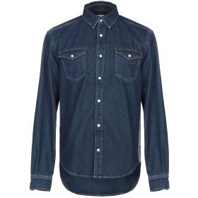 《期間限定セール開催中!》GIVENCHY メンズ デニムシャツ ブルー S コットン 100% / ナイロン / ポリウレタン