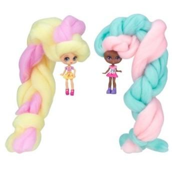 キャンディヘアーズ ツインズドール3 ジリィジェリー&ドナナッツ おもちゃ こども 子供 女の子 人形遊び 6歳