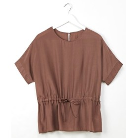 ウエストドロストデザイン ドルマンブラウス (ブラウス),Blouses, Shirts