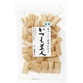 昔づくり玄米おかき(いづも美人)(100g)【三和農産】