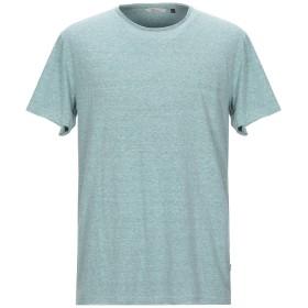 《9/20まで! 限定セール開催中》RVLT/REVOLUTION メンズ T シャツ ライトグリーン L コットン 50% / ポリエステル 50%