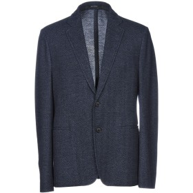 《セール開催中》GIORGIO ARMANI メンズ テーラードジャケット ダークブルー 56 バージンウール 63% / コットン 37%