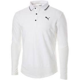 【プーマ公式通販】 ゴルフ プーマ タイト スリーブ LS ポロシャツ 長袖 メンズ Bright White |PUMA.com