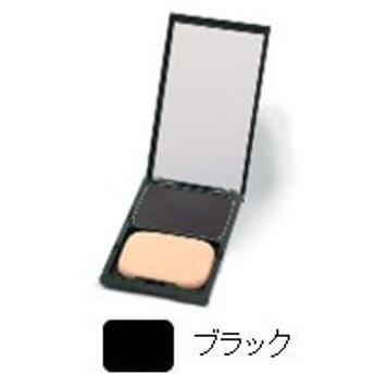 ヘアカラーファンデーション ケース付・ブラック(12g)【グリーンノート】
