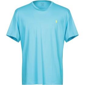 《期間限定 セール開催中》POLO RALPH LAUREN メンズ T シャツ アジュールブルー XL コットン 100%