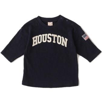 [マルイ]【セール】ロゴアップリケ七分袖Tシャツ/プティマイン(petit main)