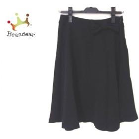 ギャラリービスコンティ GALLERYVISCONTI スカート レディース 美品 黒 タグ付き/リボン 新着 20190704