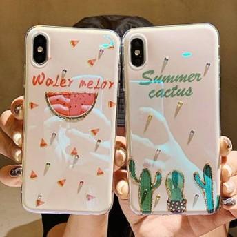 2019新作スマホケース iPhoneXs iPhoneX iPhone XR iPhoneXs MAXケース 全機種対応スマホケース可愛いカップルiPhoneケースKJS0170