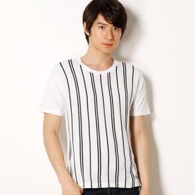 [マルイ]【セール】フロント切り替えストライプTシャツ/ラトルトラップ(RattleTrap)