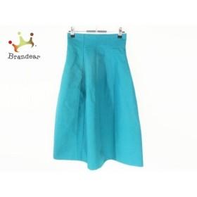 ルシェルブルー LE CIEL BLEU スカート サイズ36 S レディース 美品 グリーン  値下げ 20190911