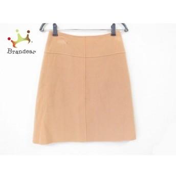 ニジュウサンク 23区 スカート サイズ38 M レディース 美品 ベージュ 新着 20190705