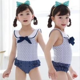 水着子供 女の子 超可愛い女の子水着 リボン パンツ水着 キッズ  ピンク 夏 砂浜 夏休み