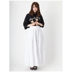 Ank Rouge(アンク ルージュ)ティアードスカート