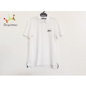 ラコステ Lacoste 半袖ポロシャツ サイズ4 XL メンズ 白   スペシャル特価 20190927