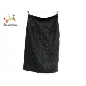 ジャスグリッティー JUSGLITTY スカート サイズ0 XS レディース 美品 黒×ライトグレー フリル   スペシャル特価 20191008