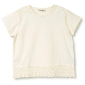 [マルイ] 【プチプラ】裾レース半袖Tシャツ/ブランシェス(branshes)