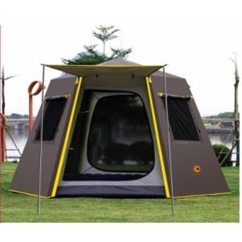 UV 六角形アルミポール 屋外キャンプ ビッグテント 3~4人用 オーニング ガーデンパーゴラ 245245165 センチメートル