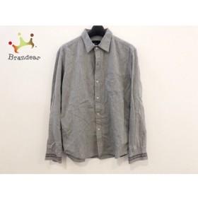 ザ ショップ ティーケー THE SHOP TK (MIXPICE) 長袖シャツ サイズ2 M メンズ グレー×マルチ 新着 20190705