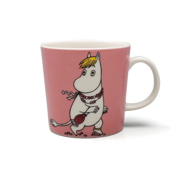 NEW Arabia Moomin Mug Snorkmaiden Pink 300ml
