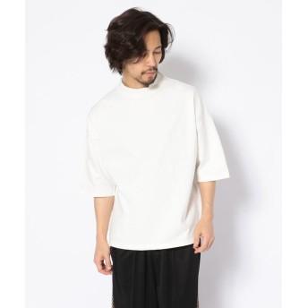 ガーデン Toironier/トワロニエ/モックネックティー/Tee メンズ WHITE 1 【GARDEN】
