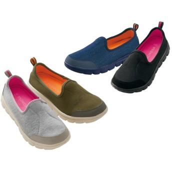 【格安-女性靴】(エアロップ)レディース軽量柔らかスリッポンスニーカー