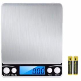 PALMOO 改良版 デジタルスケール 高精度計量器 電子秤 はかり皿はかり 計量範囲0.01g -~500g 個数計量機能 風袋引き機能 業務用