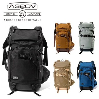 AS2OV アッソブ EXCLUSIVE BALLISTIC NYLON BACK PACK 61301
