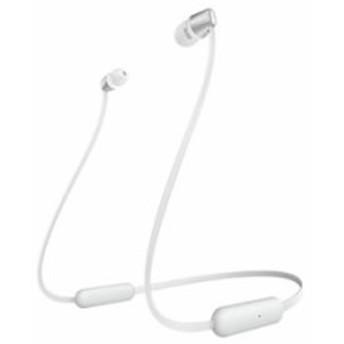 ソニー【SONY】Bluetoothイヤホン ワイヤレスステレオヘッドセット ホワイト WI-C310-W★【WIC310W】