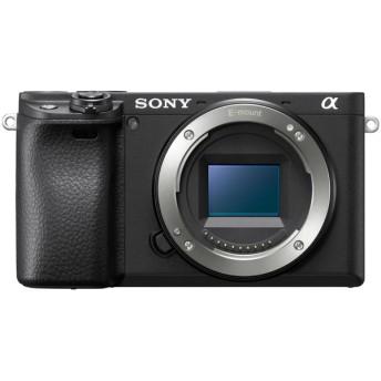 SONY ILCE-6400-B ボディ ブラック α6400 [ミラーレス一眼カメラ (2420万画素)] デジタル一眼カメラ