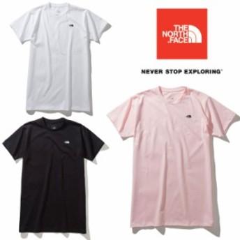 ノースフェイス ショートスリーブTNFスモールロゴロングティー NTW31982 レディース/女性用 Tシャツ 2019年春夏新作