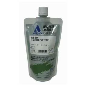 ホルベイン カラージェッソ詰替用 テールベルト 300ml[A659](グリーン)