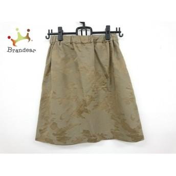 トゥモローランド TOMORROWLAND スカート サイズ38 M レディース 美品 カーキ 新着 20190705
