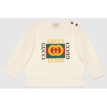 〔ベビー〕オンライン限定 GUCCI ロゴ スウェットシャツ
