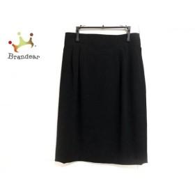 レリアン Leilian スカート サイズ9 M レディース 美品 黒   スペシャル特価 20191010
