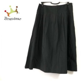 ニジュウサンク 23区 スカート サイズ46 XL レディース 黒  値下げ 20191011