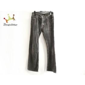バーバリーブラックレーベル Burberry Black Label パンツ サイズ76 メンズ グレー コーデュロイ 新着 20190705