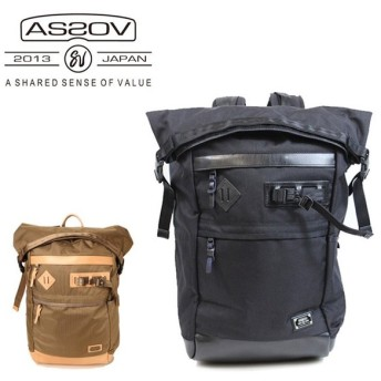 AS2OV アッソブ EXCLUSIVE BALLISTIC NYLON ROLL BACK PACK 61310