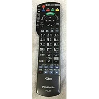 Panasonic 液晶テレビ用リモコン N2QAYB000589(中古品)