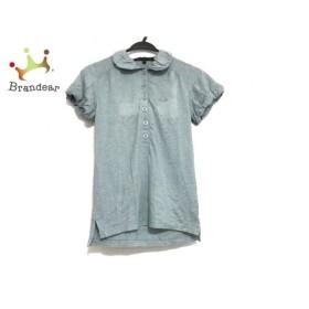 マークバイマークジェイコブス 半袖ポロシャツ サイズS レディース ライトブルー 新着 20190705