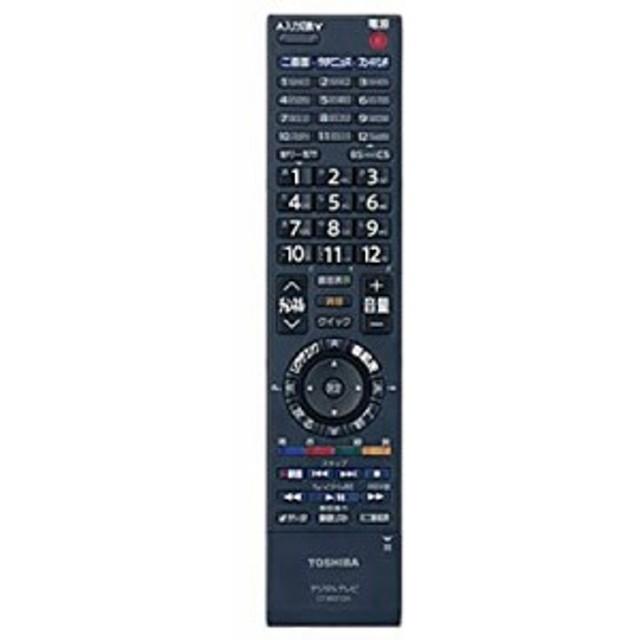 東芝 液晶テレビ用リモコンCT-90312A(75015468)(中古品)