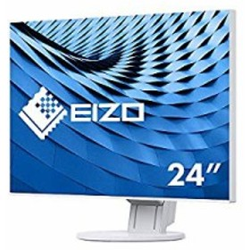 FlexScan 60cm(23.8)型カラー液晶モニター FlexScan EV2451 ホワイト(中古品)